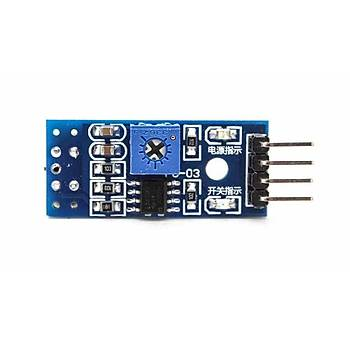 Arduino TCRT 5000 Tekli Sensör Kartý (4 Pin)