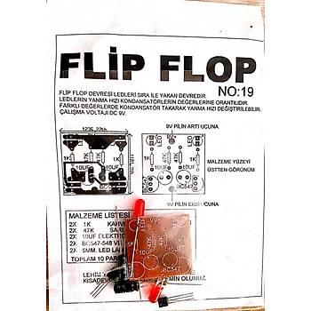 Flip Flop 2 Ledli (Demonte)