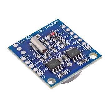 DS1307 RTC ve 24C32 EEPROM Modülü