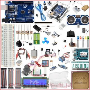 Arduino Baþlangýç Seti Uno R3 Multi Set 72 Parça 196 Adet