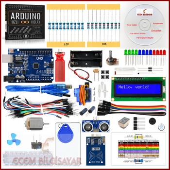 Arduino Baþlangýç Seti RFID Süper 30 Parça 135 Adet