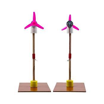 Rüzgar Enerjisi ile Elektrik Üretim Yapým Seti (Demonte)