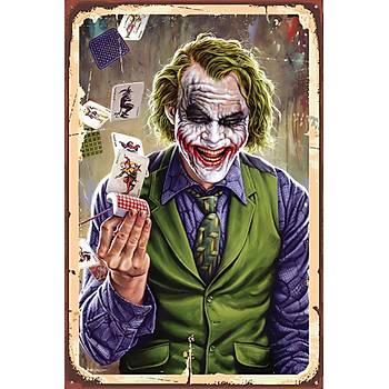 Joker 3 Retro Ahþap Poster 30x20
