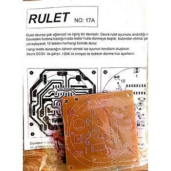 Rulet Oyunu Devresi (Demonte)