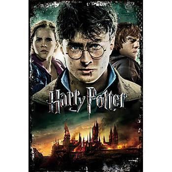 Harry Potter 3 Retro Ahþap Poster 30x20