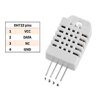 DHT22 Sýcaklýk ve Nem Sensörü - AM2302