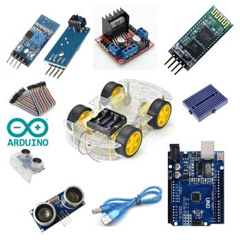 Arduino Multi 4WD Araç Seti Bluetooth