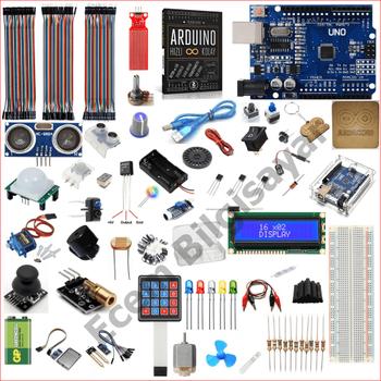 Arduino Baþlangýç Seti Uno R3 Silver 90 Parça 299 Adet
