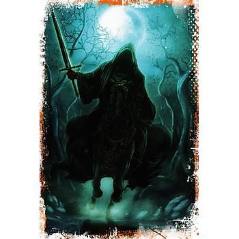 Yüzüklerin Efendisi Retro Ahþap Poster 30x20