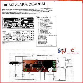 Hýrsýz Alarm Devresi (Monteli)