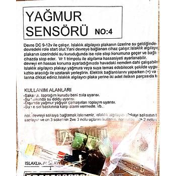 Yaðmur Sensörü (Demonte)