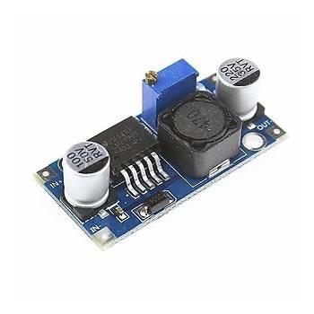 Mini Ayarlanabilir 3 A Voltaj Regülatör Kartý - LM2596-ADJ