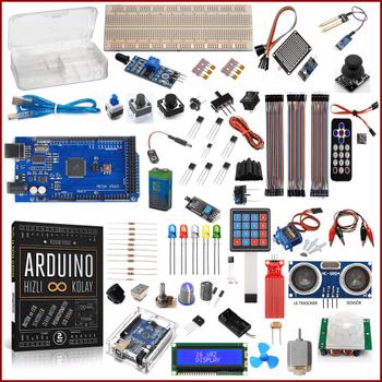 Arduino Baþlangýç Seti Mega 2560 Gold 85 Parça 279 Adet