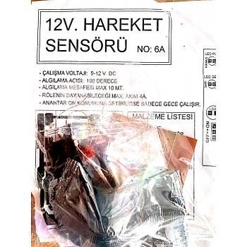 12v Hareket Sensörü (Demonte)