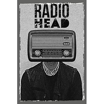 Radio Head Retro Ahþap Poster 30x20