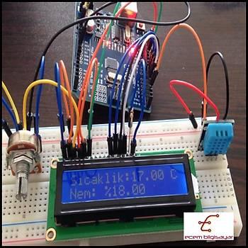 Arduino Sýcaklýk ve Nem ölçümü (Proje 2)