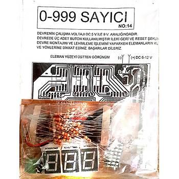0-999 Sayýcý Devresi (Ýleri-Geri-Reset Demonte)
