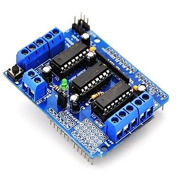 L293D Arduino Motor Sürücü Shield