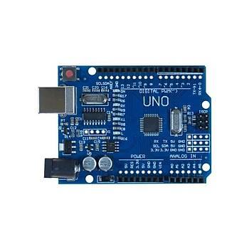 Arduino UNO R3 Klon USB Kablo Hediyeli - (USB Chip CH340)