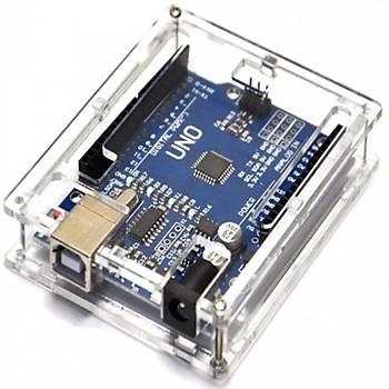 Arduino Uno R3 Pleksi Kutu (Demonte)