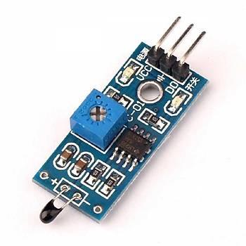 NTC Termistör Sensörü Kartý (Dijital Çýkýþ)