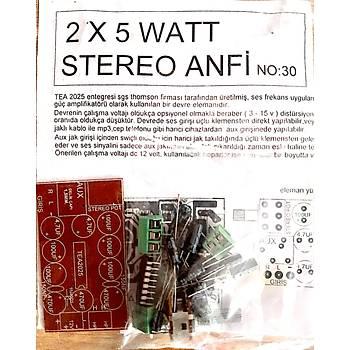 2X5 Watt Stereo Anfi Devresi (Demonte)