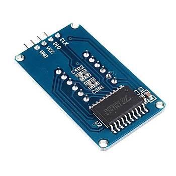 4lü 7-Segment TM1637 Kýrmýzý Display Modülü