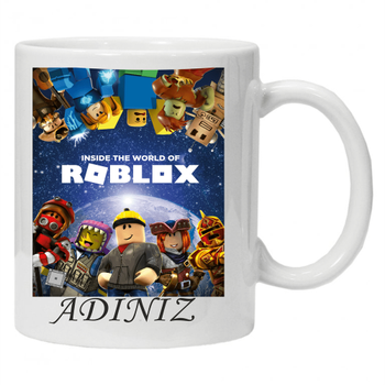 Roblox Baskýlý Kupa Bardak