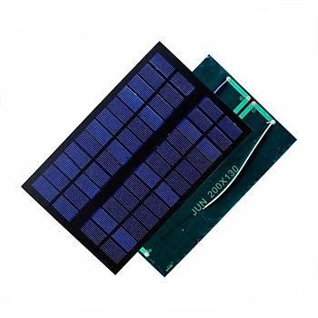 Güneþ Paneli - Solar Pil 12V 100mA (200mm x 130mm)