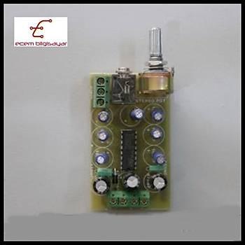 2X5 Watt Stereo Anfi Devresi (Monteli)