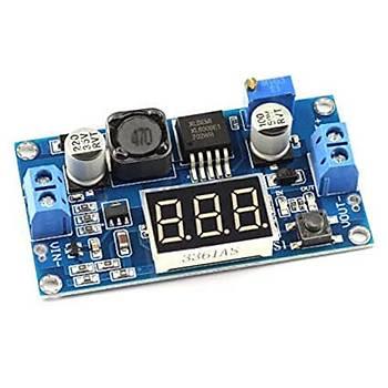 XL6009 Yükseltici Göstergeli Voltaj Regülatörü 4A