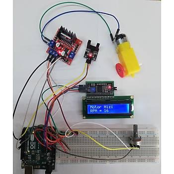 Arduino Dc Motor Hýz Ölçüm Projesi (Proje 11)
