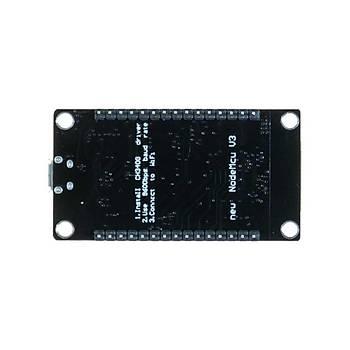 NodeMCU LoLin ESP8266 Geliþtirme Kartý - USB Chip CH340