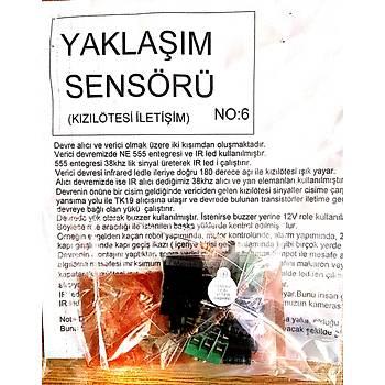 Yaklaþým Sensörü Kýzýlötesi iletiþim (Demonte)