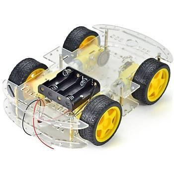 Arduino 4WD Robot Araba Platform