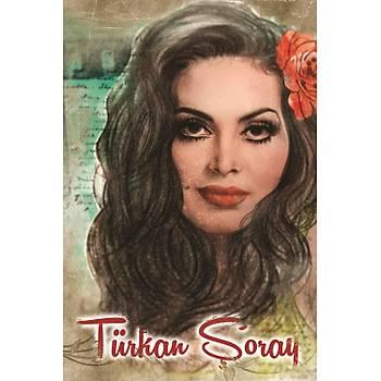 Türkan Retro Ahþap Poster 30x20