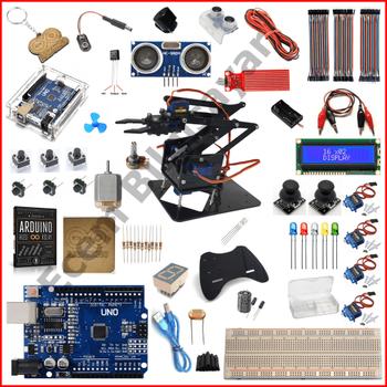 Arduino Baþlangýç Seti UnoR3 49 Parça (Robot Kol Hediyeli)