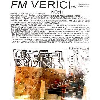 FM Verici 2 watt (Demonte)
