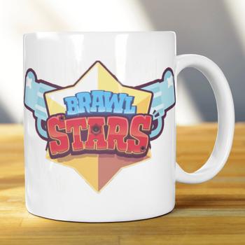 Brawl Stars isim Baskýlý Kupa Bardak