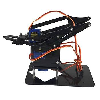Arduino Robot Kol 35 Parça (Vidalar ve motorlar dahil)