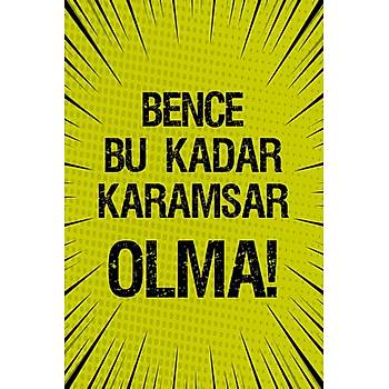 Karamsar Retro Ahþap Poster 30x20