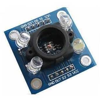 TCS3200 Renk Sensörü Kartý - Sensör Yuvalý