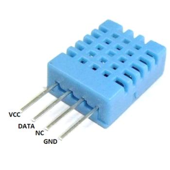 Arduino için DHT11 sýcaklýk nem sensörü