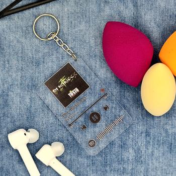 Spotify Kodlu Anahtarlýk 8x5cm ( Tiesto ) The Business