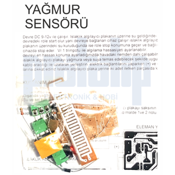Yaðmur Sensörü Demonte