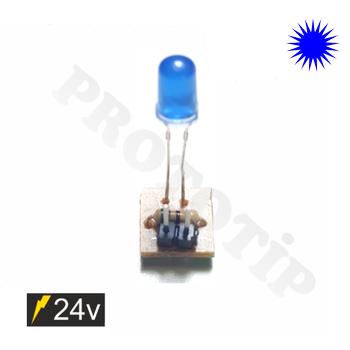 5mm 24v Led Modülü Mavi