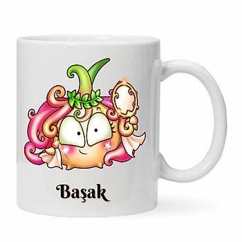 Baþak Burcu Baskýlý Kupa Bardak