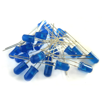 5mm Mat ( Diffused ) Mavi Led 10 Adet