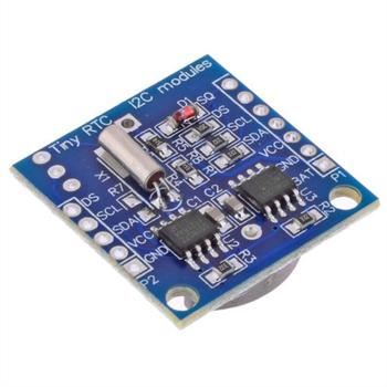Arduino DS1307 RTC Zaman Saat Modülü Pil Dahil