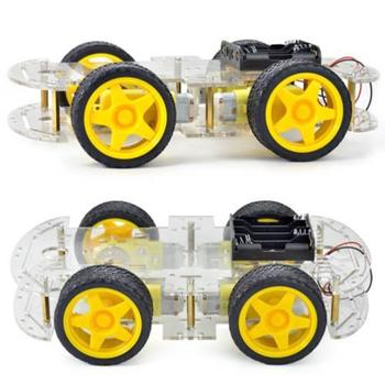 Arduino 4WD Robot Araba Platform - 4wd Smart Car